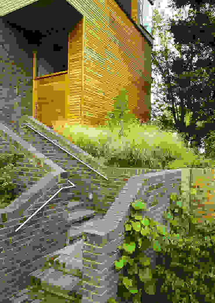 Communal Gardens, London Taman Modern Oleh Bowles & Wyer Modern