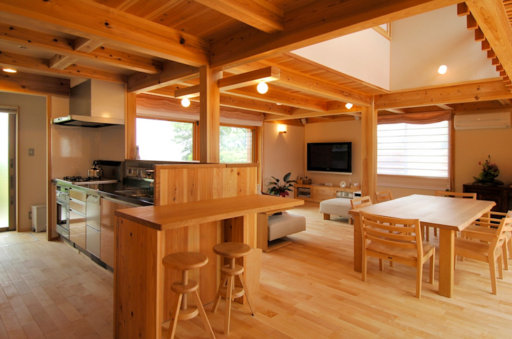 by shu建築設計事務所 Asian Wood Wood effect