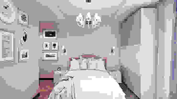 Minimalist bedroom by студия визуализации и дизайна интерьера '3dm2' Minimalist