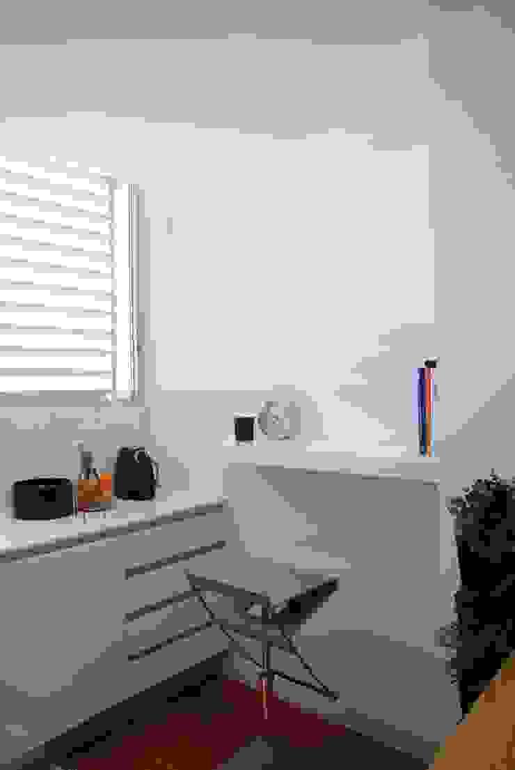 Projecto Vale Pisão - Gabinete de Arquitectura Inexistencia Cozinhas modernas por Inexistencia Lda Moderno