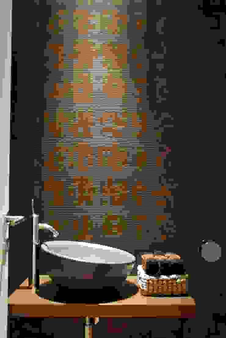 Projecto Vale Pisão – Gabinete de Arquitectura Inexistencia Casas de banho modernas por Inexistencia Lda Moderno