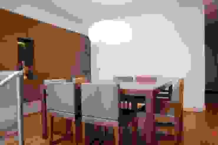 Projecto Vale Pisão – Gabinete de Arquitectura Inexistencia Salas de jantar modernas por Inexistencia Lda Moderno