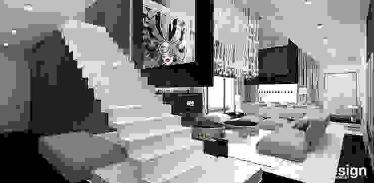 Hành lang, sảnh & cầu thang phong cách hiện đại bởi ARTDESIGN architektura wnętrz Hiện đại