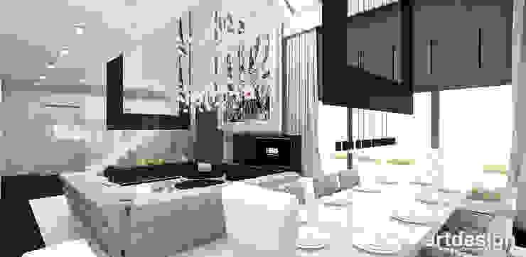 Phòng ăn phong cách hiện đại bởi ARTDESIGN architektura wnętrz Hiện đại