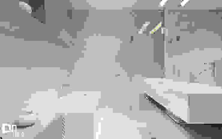 Projekt łazienki Nowoczesna łazienka od TIKA DESIGN Nowoczesny