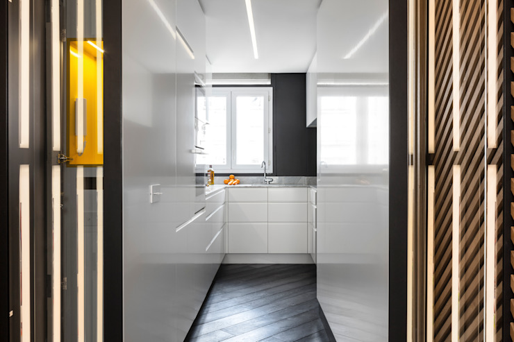 Agence Glenn Medioni ห้องครัว