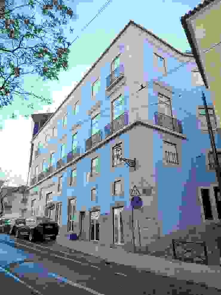 Hello Lisbon Castelo por Andre Espinho Arquitectura Minimalista