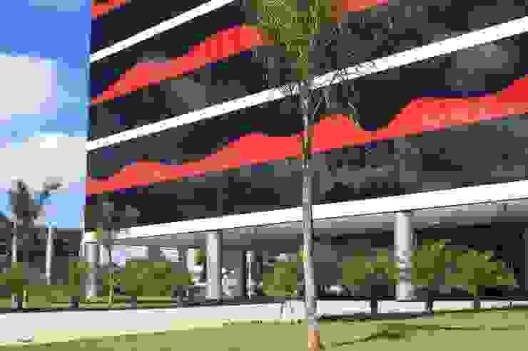Edifício PO 700 Edifícios comerciais modernos por Fabio Camargo Paisagismo Moderno