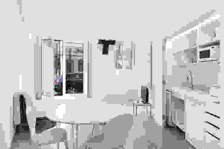 Ground floor studio por Andre Espinho Arquitectura Minimalista