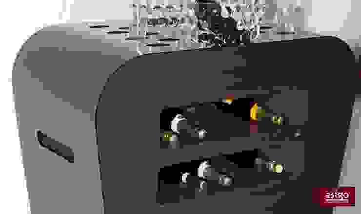 Carrito para botellas de vino Esigo de Esigo SRL Moderno