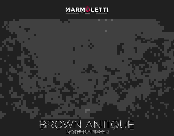 Granito Brown Antique Cocinas modernas de MARMÖLETTI Moderno