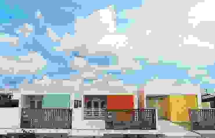 Casas de estilo  por Martins Lucena Arquitetos , Minimalista