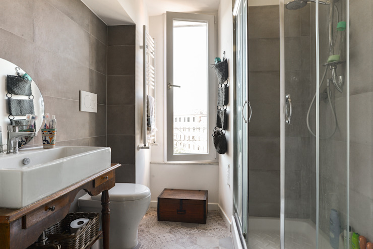 Classic style bathroom by 02A Studio Classic Ceramic