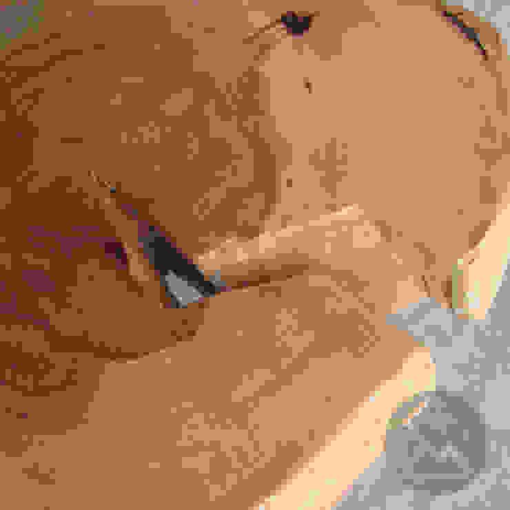 STOLIK No.14 Cu od Studio Minimal Meble Minimalistyczny Drewno O efekcie drewna