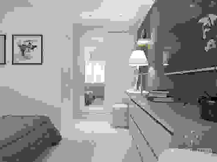Quartos minimalistas por Мастерская дизайна Welcome Studio Minimalista