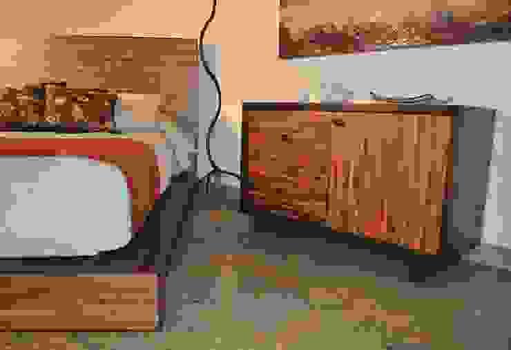 Cajonera Reciclato Nogal de Segusino Muebles Condesa Moderno Madera Acabado en madera