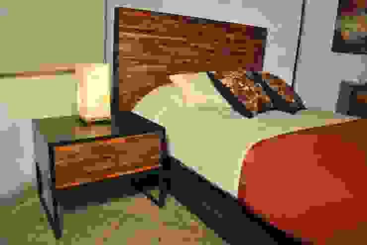 Buró de Segusino Muebles Condesa Moderno Madera Acabado en madera