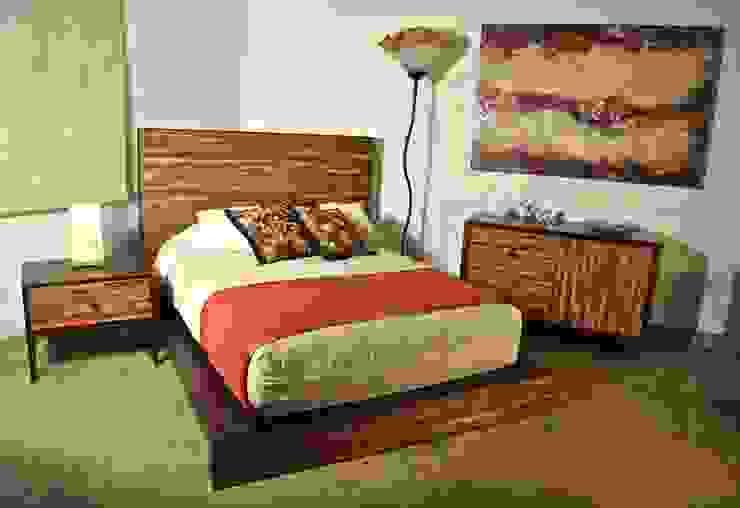 Projekty,  Sypialnia zaprojektowane przez Segusino Muebles Condesa