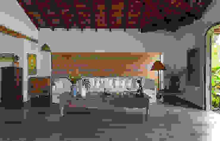 Living room by Vida de Vila, Rustic Pottery