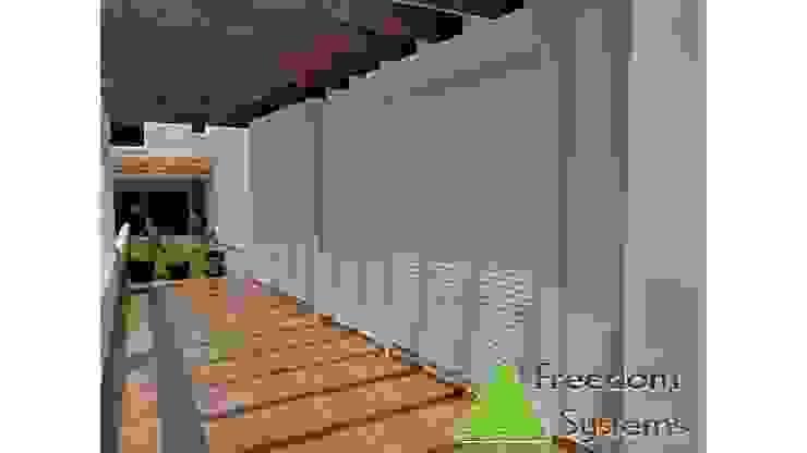 Persianas enrollables de aluminio Balcones y terrazas clásicos de FREEDOM SYSTEMS MEXICO Clásico Aluminio/Cinc
