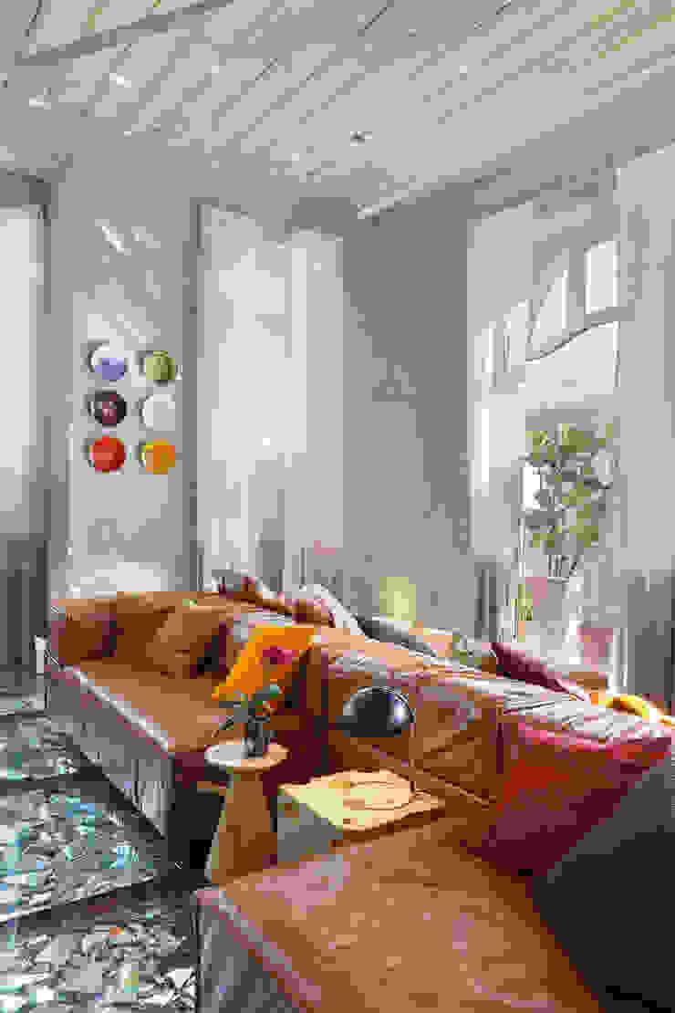 Lab LZ by GT - Casa Cor 2015 Salas de estar modernas por Gisele Taranto Arquitetura Moderno