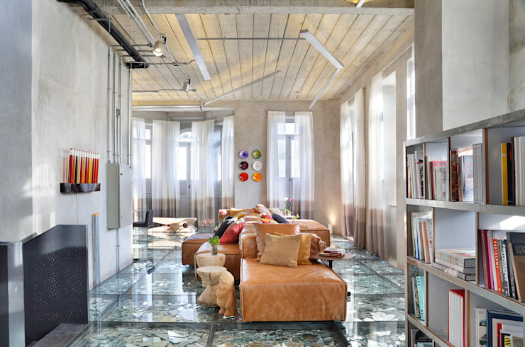 Lab LZ by GT - Casa Cor 2015 Salas multimídia modernas por Gisele Taranto Arquitetura Moderno
