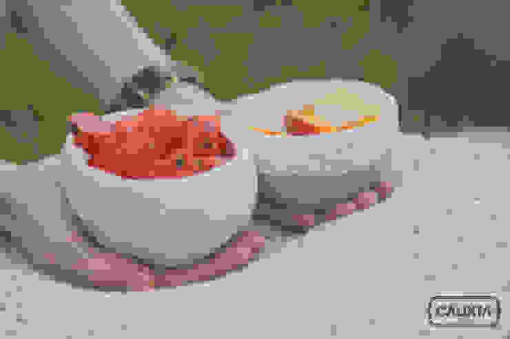 Mini bowls para antojos. de Calixta Moderno Cerámica