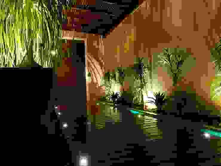 APÊ RC | Área de Lazer Varandas, alpendres e terraços rústicos por CAROLINA KLEEBERG Rústico
