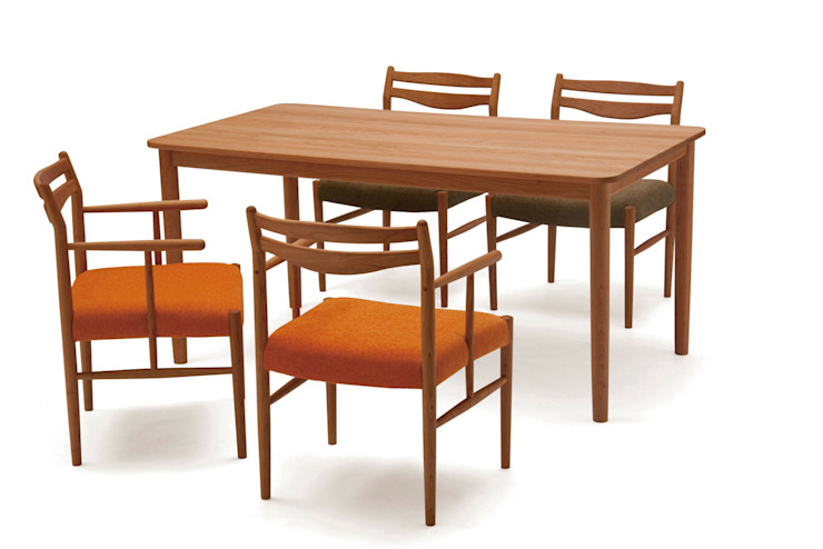 canale-T150_CHE: NDstyle./NODA FURNITURE co.,ltd.が手掛けたスカンジナビアです。,北欧 竹 緑