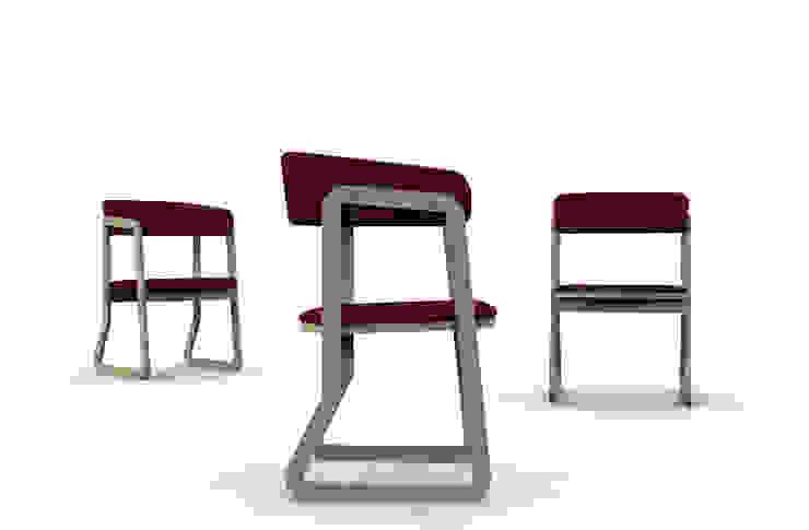 Salina chair di Giovanni Cardinale Designer Scandinavo Legno Effetto legno