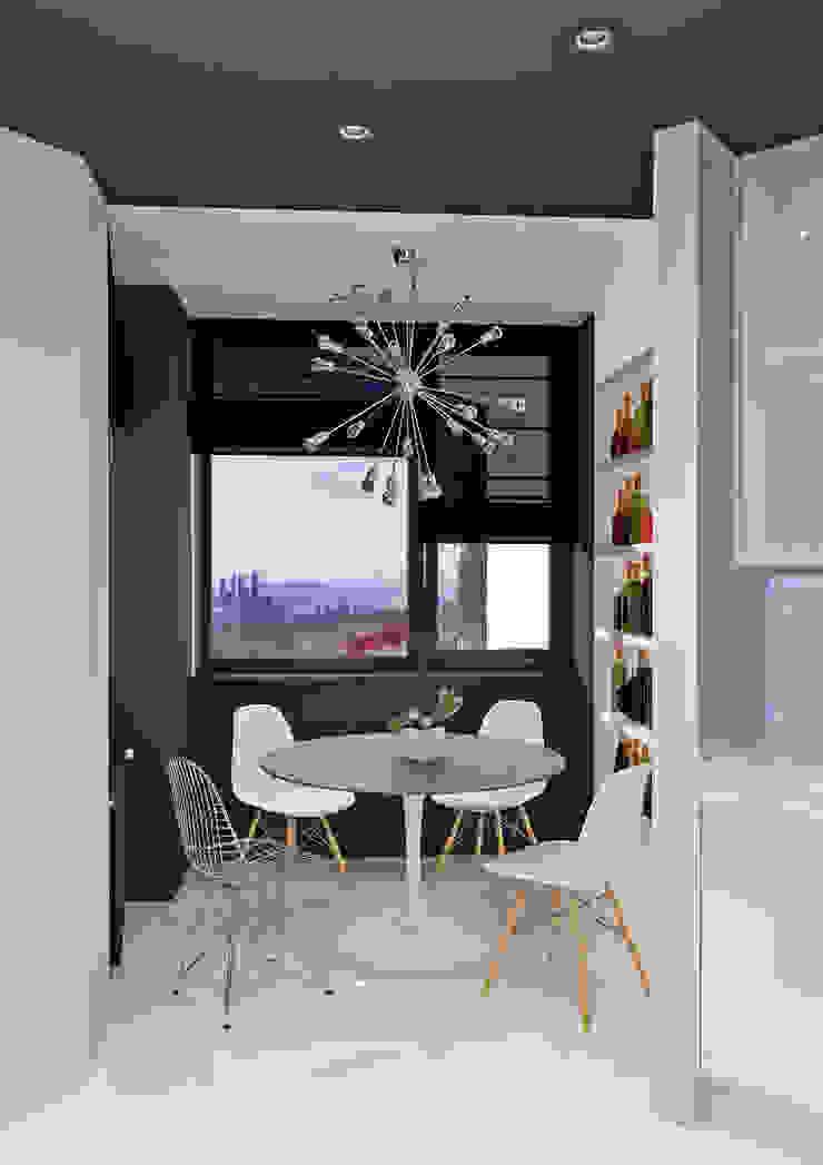Квартира MINIMAL Кухня в стиле минимализм от QUADRUM STUDIO Минимализм
