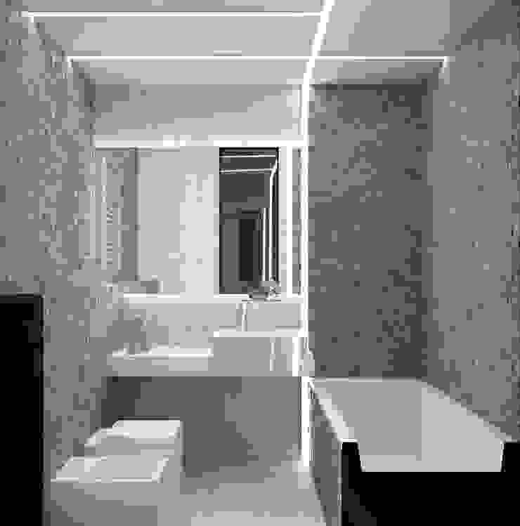 Квартира MINIMAL Ванная комната в стиле минимализм от QUADRUM STUDIO Минимализм
