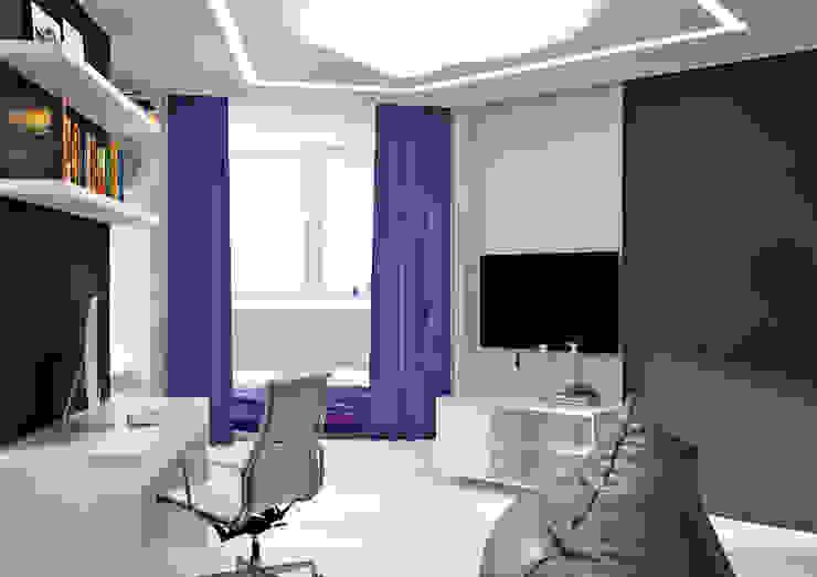 Квартира MINIMAL Детская комнатa в стиле минимализм от QUADRUM STUDIO Минимализм