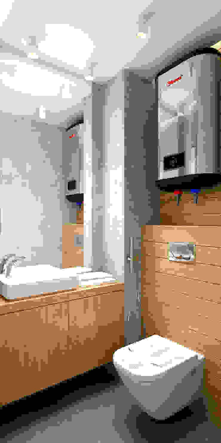 LOFT на Менякина Ванная в стиле лофт от QUADRUM STUDIO Лофт