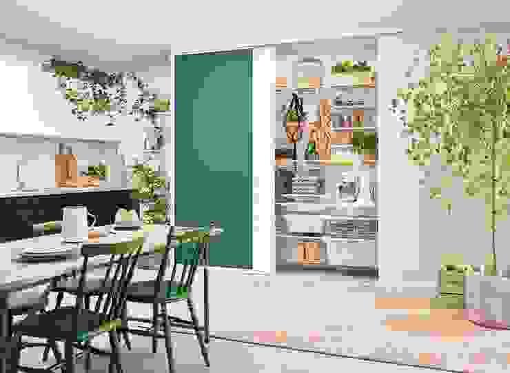 Elfa Deutschland GmbH Cocinas de estilo moderno Verde