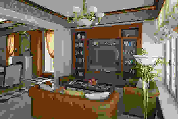 Living room in Art Deco style. Гостиная в стиле модерн от Design studio of Stanislav Orekhov. ARCHITECTURE / INTERIOR DESIGN / VISUALIZATION. Модерн
