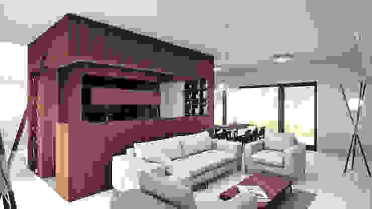 Uniwersalny light (aranżacja #1) Klasyczny salon od INDEA Klasyczny