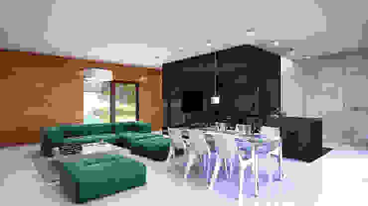 Кухня в стиле модерн от INDEA Модерн