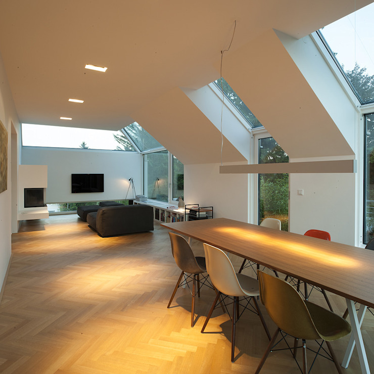Гостиная в . Автор – x42 Architektur ZT GmbH,