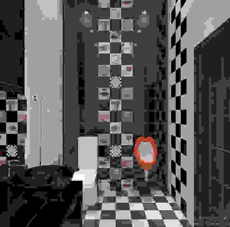 Kamar Mandi Modern Oleh Студия интерьерного дизайна happy.design Modern