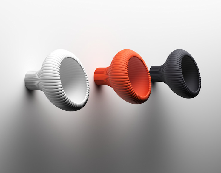 Blomp Coat Hook par aCathroDESIGN Moderne Plastique