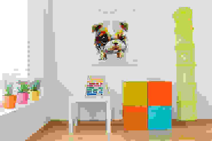Projekty,  Pokój dziecięcy zaprojektowane przez KUNSTLOFT