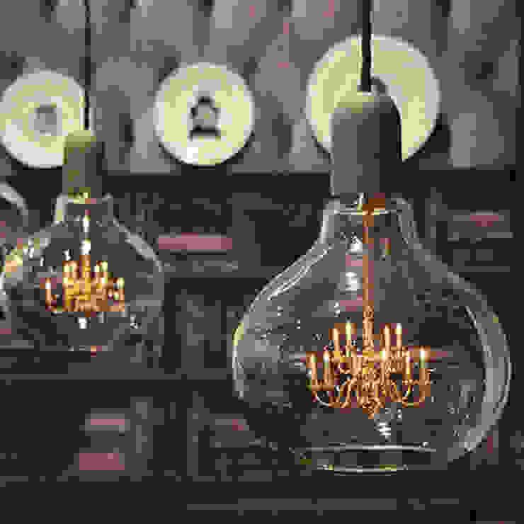 King Edison Pendant Lamp Dust HouseholdHomewares Amber/Gold
