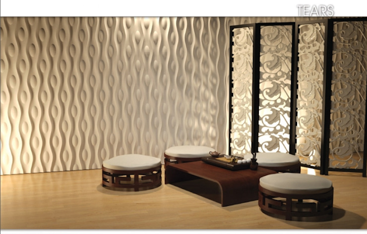 Wall Panels 3D - Dunes Modern Walls and Floors by DecoMania.pl Modern