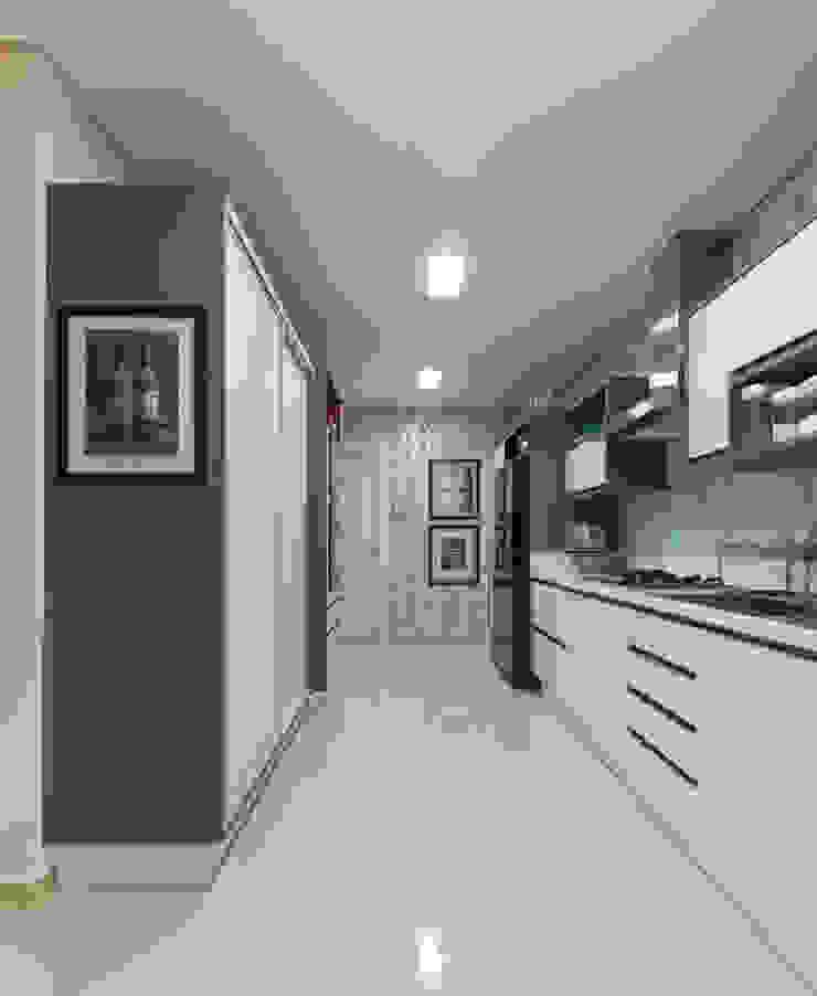 Cozinha por CASA Arquitetura e design de interiores Eclético