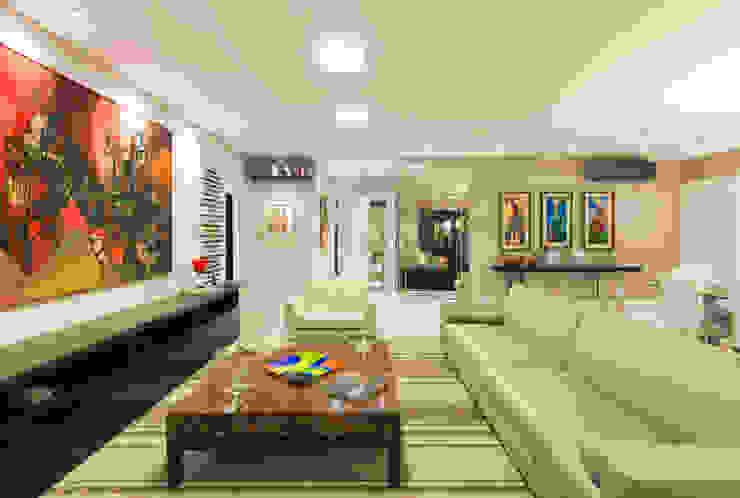 Sala de Estar por CASA Arquitetura e design de interiores Eclético