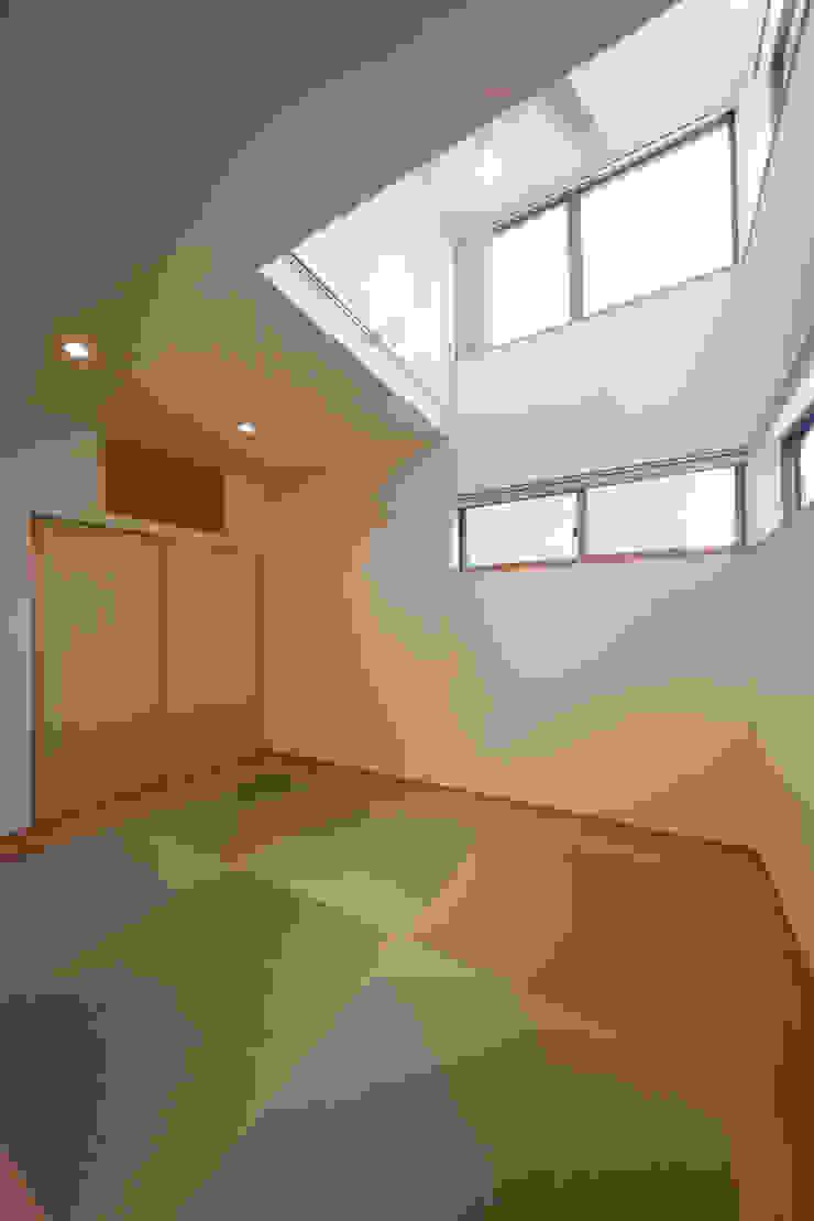 船原町の家 モダンスタイルの寝室 の 加門建築設計室 モダン