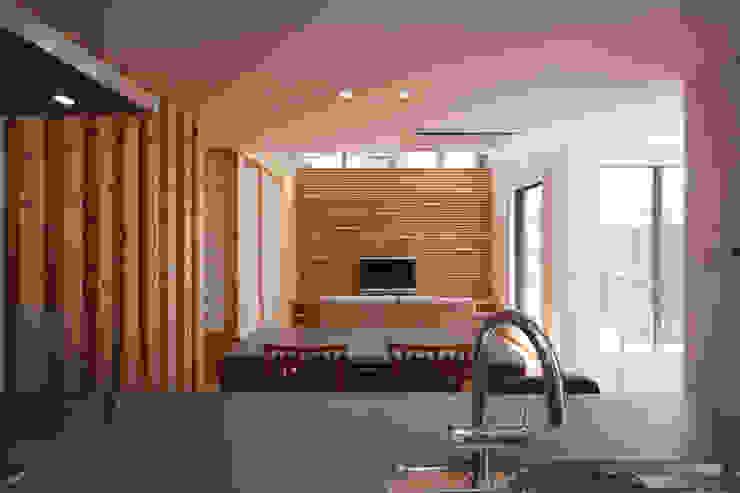 船原町の家 モダンデザインの ダイニング の 加門建築設計室 モダン