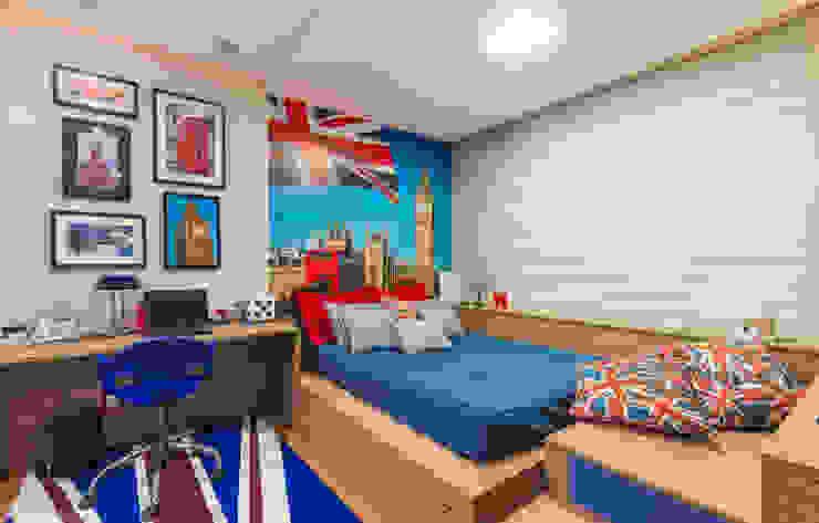 Bedroom by CASA Arquitetura e design de interiores