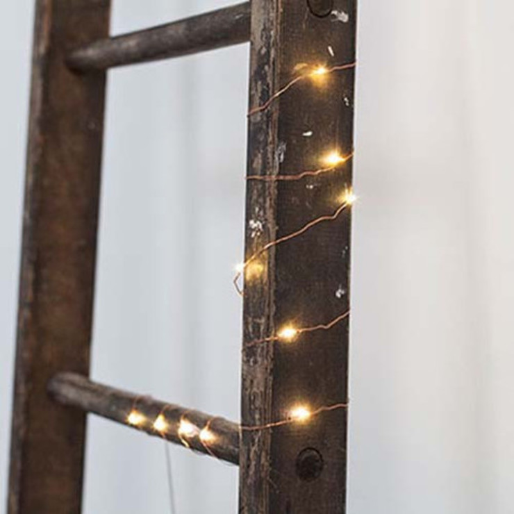 Copper String of Lights Dust HouseholdAccessories & decoration Copper/Bronze/Brass Amber/Gold
